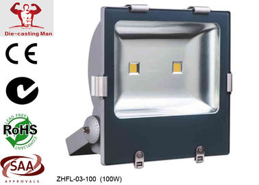 9600Lm 100W Outdoor LED Flood Light Fixtures / LED Exterior Flood Lights for Advertisement Board